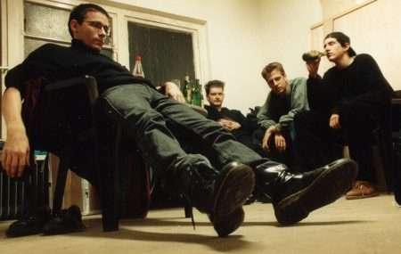 Tour 1994: Backstage-fun (Gruenitz, v. Arndt, Noeth, Kleiner)
