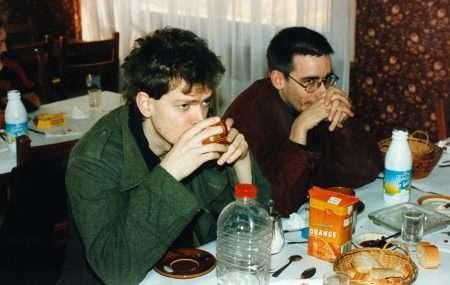 France, Tour 1992, dead-tired morning: v. Arndt, Gruenitz